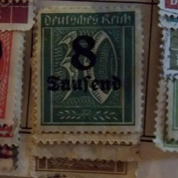 Questionable Germany Stamp