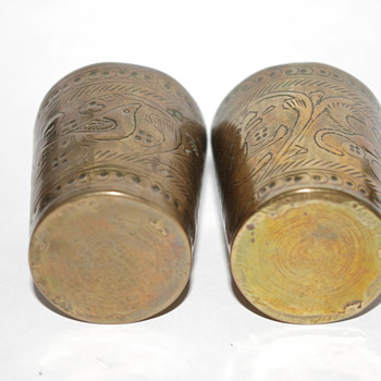 More pics of my Grandgather's shell casings.