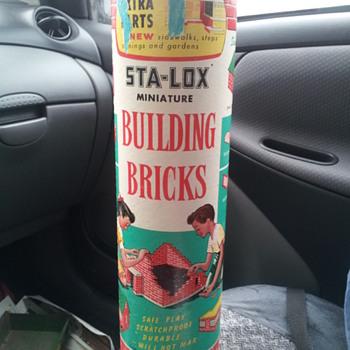 STA-LOX Miniature Building Brick Kit.  Set No. 301 - Toys