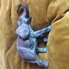 Detailed metal elephant