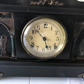 Sessions mantle clock 'Wagner'. Repair/ parts required and diagram of mechanism - Clocks