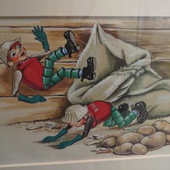 Original artwork by Janet & Anne Grahame johnstone - Books