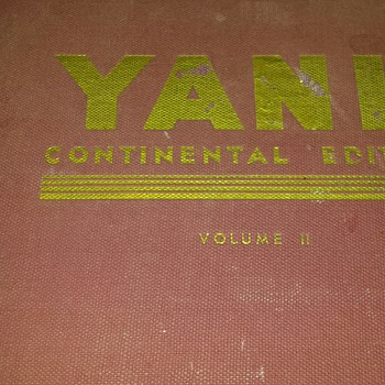 Yank hard copy book