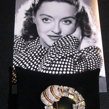 Bette Davis . . . 'Brooch'/Personal Property