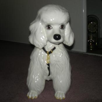 Italian Glass Poodle.