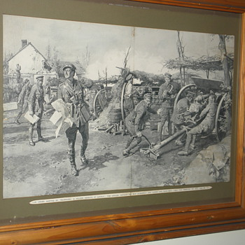 world war one prints