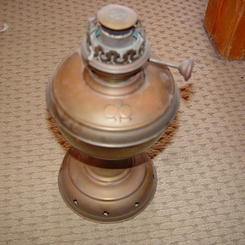 old oil lamp - Lamps