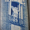 THE COLONEL 1954 HIGH SCHOOL ANNUAL -- OXFORD MISSISSIPPI
