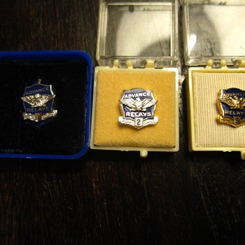 Advance Relays Award Pins