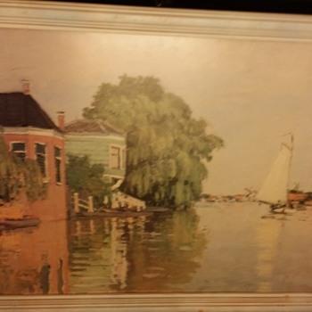 watercolor on board - Fine Art