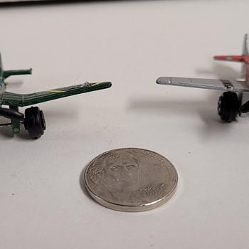 TootsieToy WWII Airplanes  - Toys