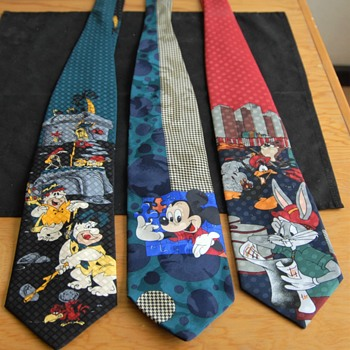 CARTOON CHARACTER TIES - Mens Clothing