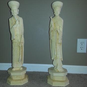Oriental statues I inherited  - Asian