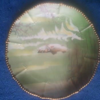 Limoges Fish Plate Set - China and Dinnerware