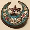 Inherited micro mosaic brooch