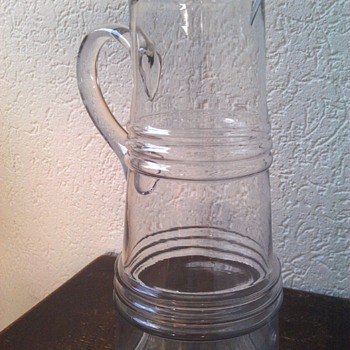 My Funny Old Pitcher - Glassware