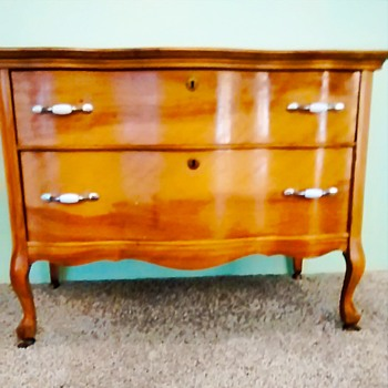 Small two drawer dresser