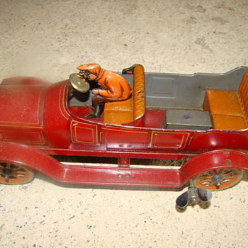 GBN on back.  Help me date this one please - Model Cars
