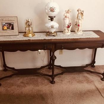 mahogany table - Furniture