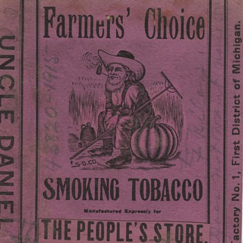 Antique Graphics of Tobacco - Tobacciana