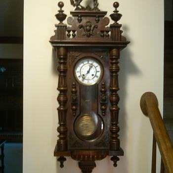 My 1800's clock - Clocks