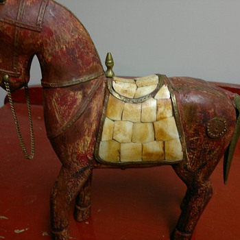 1800's warrior horse? - Asian