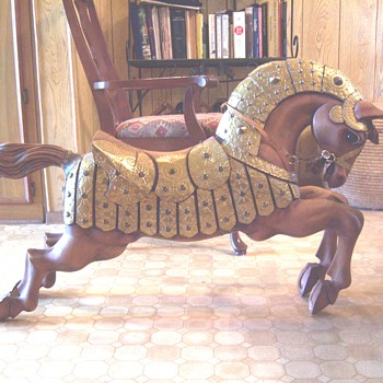 Mexican Wooden Horse - Animals