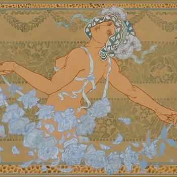 Hans Christiansen / Addison Le Boutillier Original Art - Art Nouveau