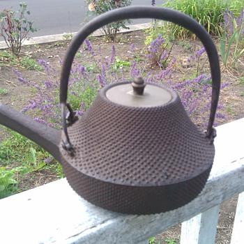 Old Tea Kettle - Asian
