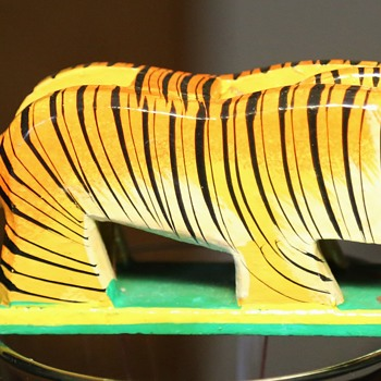 Tiger Toy from India [me thinks] - Animals