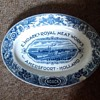 E.Noack's Royal Meat Works Amersfoot - Holland meat platter age unknow with a chip