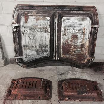 Boiler doors