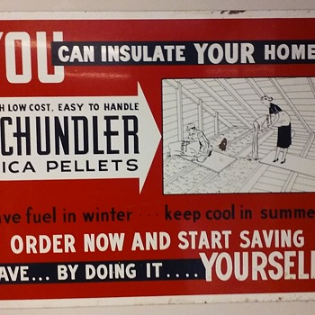 SCHUNDLER MICA PELLETS - Signs