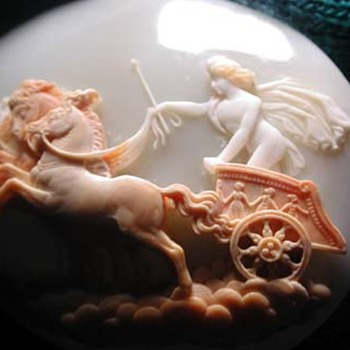 Fine cameo of Apollo in chariot