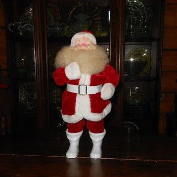 Put Away the Fall Decor Vintage Harold Gale Santa - Christmas