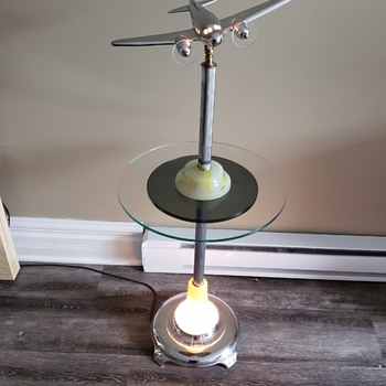 Vintage plane table - Tobacciana