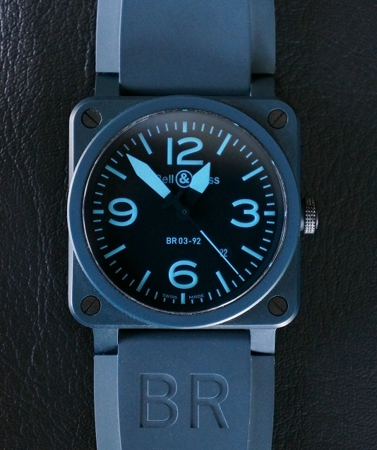 8938ab35a Bell & Ross BR 03-92 Blue Ceramic and Compass Watches | Collectors Weekly