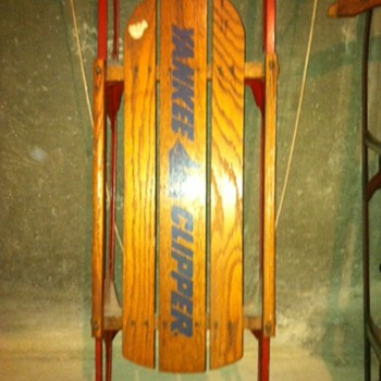 Yankee Clipper Sled, circa 1950s - Sporting Goods
