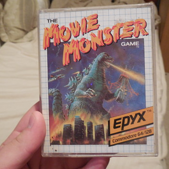 Godzilla, THE MOVIE MONSTERS GAME, Commodore 64