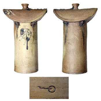 Unusual vase and mark, pottery gres - Pottery