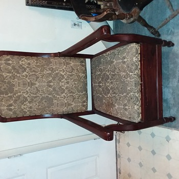 Antique Toilet Chair from Belgium - Furniture