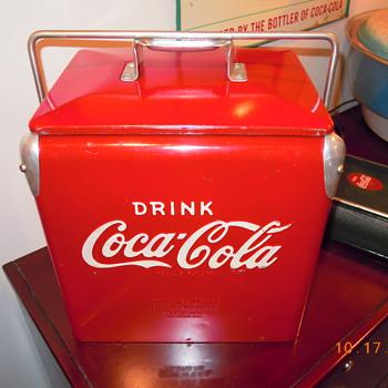 1958 Coca-Cola Picnic Cooler - Acton Jr.