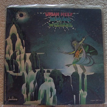 URIAH HEEP!...Lee Kerslake R.I.P. - Records