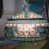 Elephant decorated box