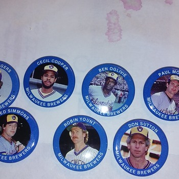 Milwaukee Brewers pins 1984 - Baseball