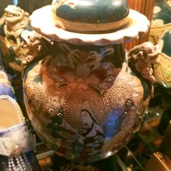 19th century Japanese vase purchased in China around 1900 - Asian