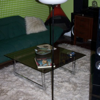 1960's Laurel Mushroom Floor lamp - Lamps