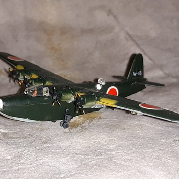 Bachmann Mini Plane #60 Kawanishi H8K2 2 Shiki Flying Boat - Toys