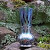 Loetz Rubin  Phänomen  Gre 6893 with silver overlay vase
