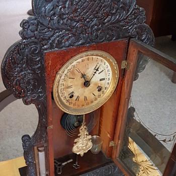 Grandparent's mantel piece clock - Clocks